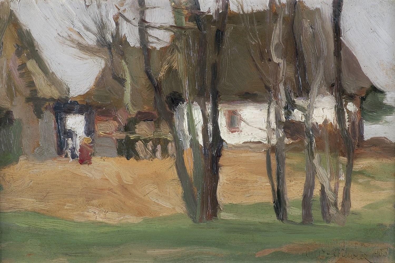 Wojtkiewicz Witold, POCHMURNY DZIEŃ, 1903