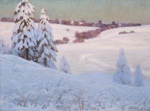 Bratkowski Roman, PEJZAŻ ZIMOWY, 1911