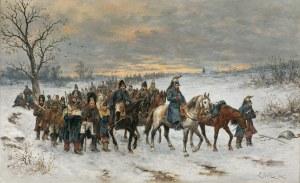 Gędłek Ludwik, ROK 1812. POWRÓT WIELKIEJ ARMII SPOD MOSKWY