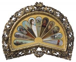 Brandt, Kochanowski i inni malarze monachijscy, WACHLARZ MALOWANY, 1880-1890