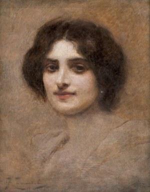 Żmurko Franciszek, PORTRET KOBIETY, 1902