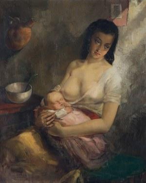 van Belleghem Aimé, MACIERZYŃSTWO, OK. 1945-1950