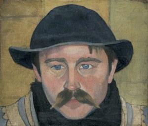Witkiewicz Stanisław Ignacy, PORTRET GÓRALA WOJCIECHA BISKUPA WALKA, 1910-19