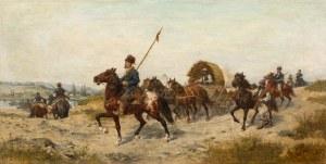 Ludwik Gędłek, Przeprawa Kozaków