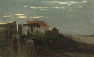 Maksymilian Gierymski, Nad Wisłą, 1873