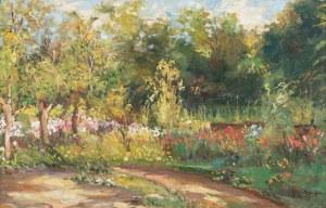 Józef Mehoffer, Ogród kwiatowy, ok. 1930