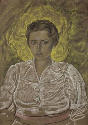 Stanisław Ignacy Witkiewicz Witkacy, Portret kobiety, 9 VIII 1938