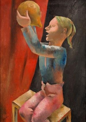 Eugeniusz Zak, Pijący chłopiec, 1925