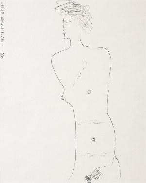 Jerzy Nowosielski, Akt, 1990