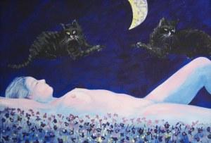 Jan Wojciech Malik, Dwa koty i księżyc