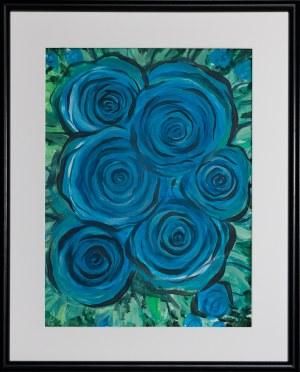 Jose Angel Hill, Blue Roses
