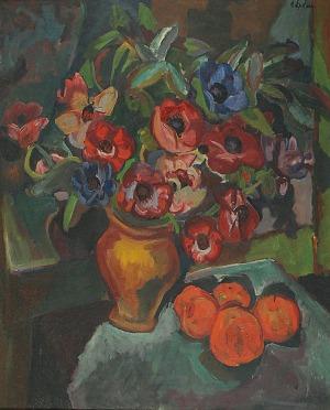 Henryk EPSTEIN (1891-1944), Kwiaty w wazonie