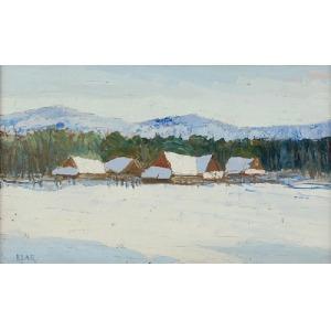 Artur KLAR (1895-1942), Pejzaż - Karpaty Wschodnie