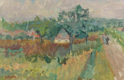 Zygmunt SCHRETER (1886-1977), Dom wśród drzew