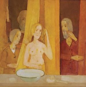 Kiejstut BEREŹNICKI (ur. 1935), Zuzanna i starcy, 2002