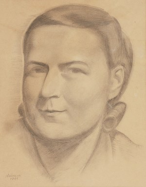 Henryk STAŻEWSKI (1894-1988), Portret Ireny Surdyk, 1943
