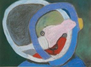 Stasys EIDRIGEVICIUS (ur. 1949), Głowa, 1996