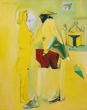 Jacek SROKA (ur. 1957), Kompozycja figuralna, 1998