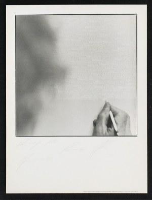 Antonia MULAS, XX w., Roman Opałka przy pracy, 1993