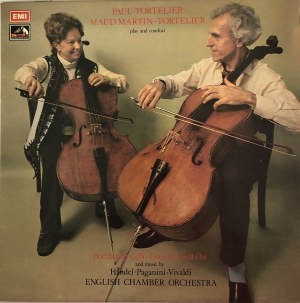 Luigi Boccherini, Haendel, Paganini, Vivaldi w wykonaniu Paula Tortelier i Maud Martin-Tortelier, English Chamber Orchestra