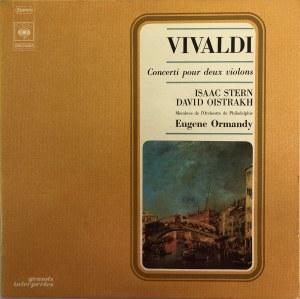 Antonio Vivaldi, Koncerty na dwoje skrzypiec, Isaac Stern, David Oistrakh, Eugene Ormandy