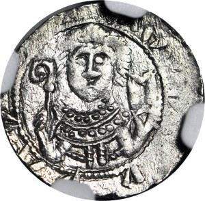 Władysław II Wygnaniec 1138-1146, Denar, książę i biskup, E, menniczy
