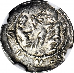 Władysław II Wygnaniec 1138-1146, Denar, orzeł i zając, menniczy
