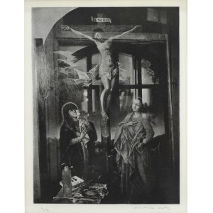 """ALEKSANDER MITKA Z cyklu """"Atelier – Ukrzyżowanie"""", 2002"""