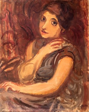 Zygmunt Menkes (1896 Lwów – 1986 Riverdale) Siedząca kobieta