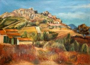 Henryk Hayden (1883 Warszawa – 1970 Paryż) Wzgórze Six-Fours w pobliżu Sanary, ok. 1925 r.