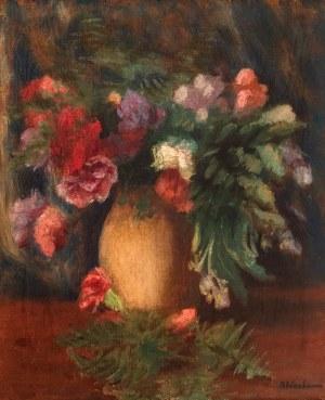 Abraham Weinbaum (1890 Kamieniec Podolski – 1943 Sobibór) Bukiet kwiatów
