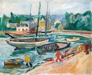Henryk Epstein (1891 Łódź – 1944 Auschwitz) Port z łodziami