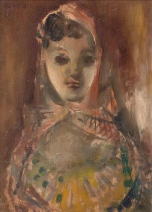 Rajmund Kanelba (1897 Warszawa – 1960 Londyn) Dziewczyna w chustce