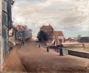 Henryk Hayden (1883 Warszawa – 1970 Paryż) Keja w Honfleur, 1933 r.
