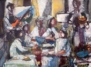 Zygmunt Menkes (1896 Lwów – 1986 Riverdale) Przyjęcie urodzinowe