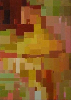 Arkadiusz Rataj, 1984, Z cyklu Obrazy algorytmiczne GCD - Greatest Common Dividor, 2018