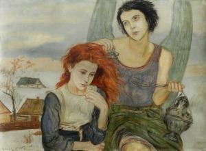 Wlastimil Hofman, Pod skrzydłami anioła, 1922 1927