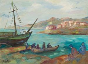 Henryk Epstein, POWRÓT RYBAKÓW, ok. 1927