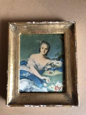 Jean-Marc Nattier, Henrietta Francuska jako Flora (reprodukcja)