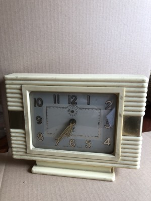 Zegar stojący / budzik marki JAZ, Francja