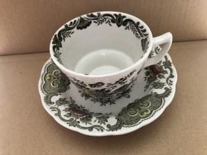 Porcelanowa filiżanka ze spodkiem Ridgway Staffordshire England Windsor, Wielka Brytania