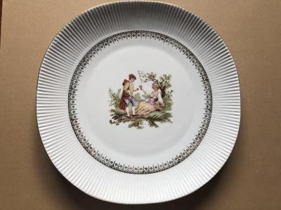 Porcelanowy talerz dekoracyjny