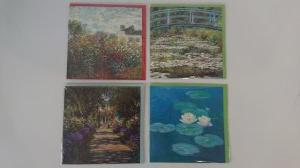 Zestaw pocztówek - Claude Monet