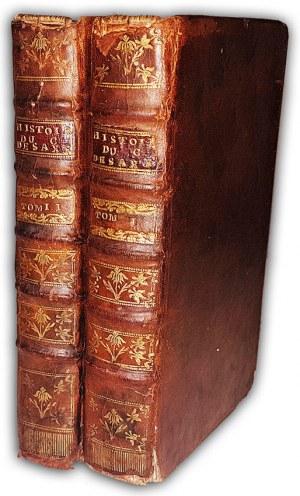 NÉEL - HISTOIRE DE MAURICE COMTE DE SAXE T.1-3. Mittaw 1752