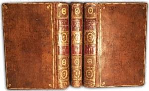 CASTERI - VIE DE CATHERINE II, IMPÉRATRICE DE RUSSIE t.1-3 (komplet w 3 wol) wyd.1800 mapy