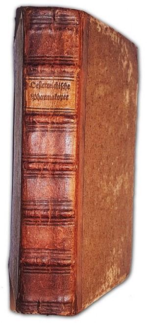 FARMAKOPEA AUSTRIACKA - ÖSTERREICHISCHE PROVINZIAL-PHARMAKOPEE (PROVINCIAL-PHARMAKOPEE) Wien 1778 polonica