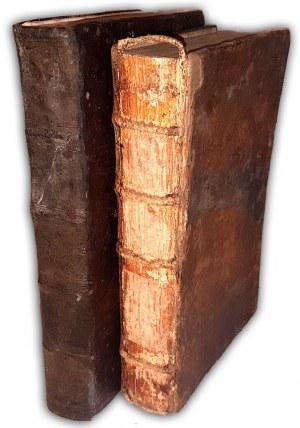 ZALASZOWSKI - IUS REGNI POLONIAE t.1-2 (komplet w 2 wol.) wyd. 1699-1702