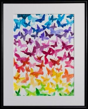 José Angel Hill, Butterflies
