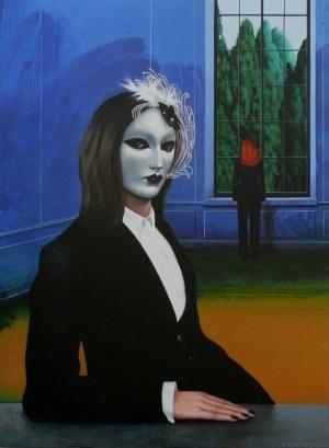 Henryk Laskowski, Dziewczyna w weneckiej masce, 2014