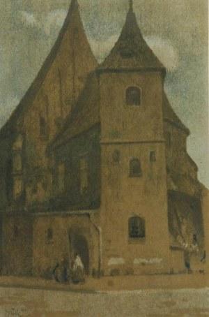 WŁODZIMIERZ BŁOCKI (1885-1921), Kościół św. Marka, 1911